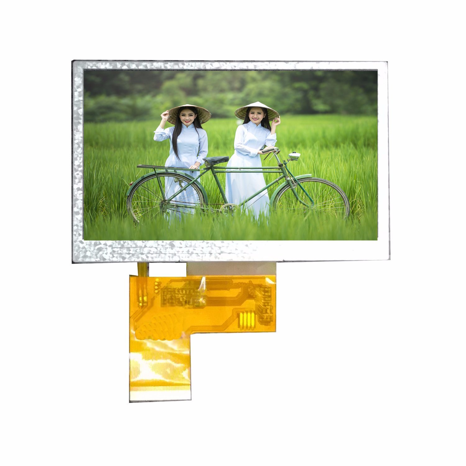 4.3 Inch 480X272 Resolution Customizable TFT LCD Module Touch Screen LCD Screen M017