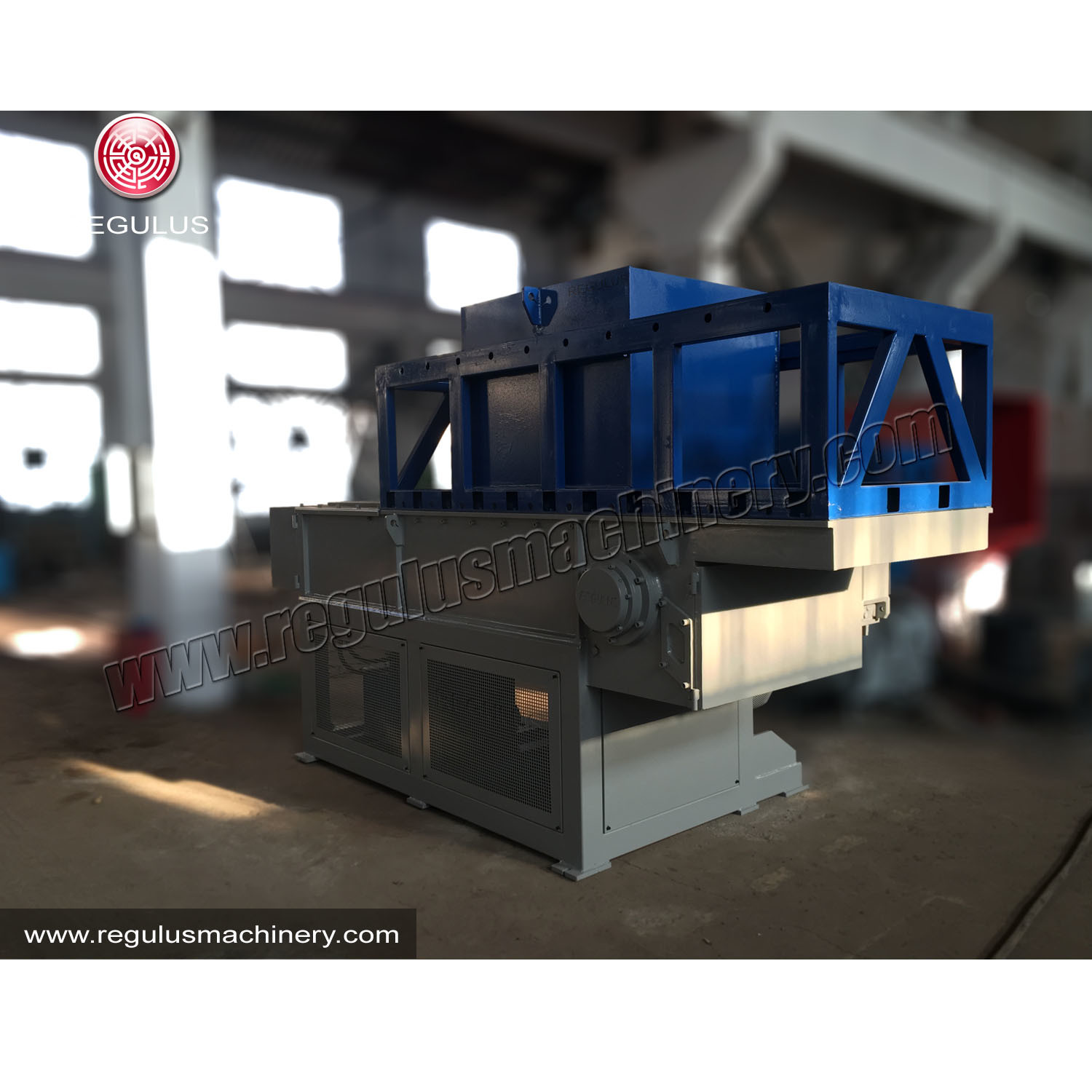 HDPE PVC Water Pipe Shredder for Recycling Plastic