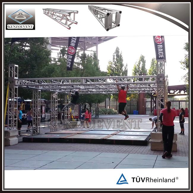 Outdoor 12 Inch Aluminum Thomas Ninja Obstacle Course Truss