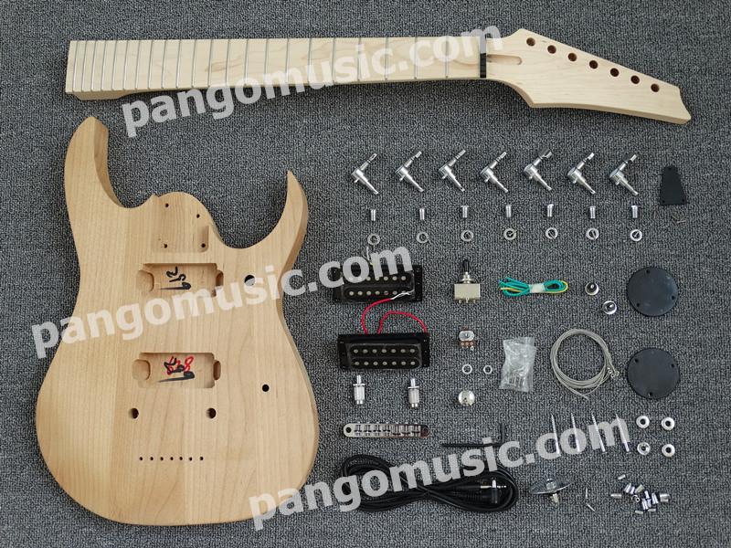 7 Strings DIY Electric Guitar Kit / DIY Guitar of Pango (PYX-001K)