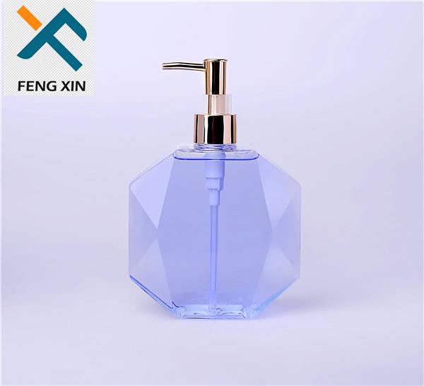 250ml 500ml 1000ml Clear Plastic Hand Soap Bottle