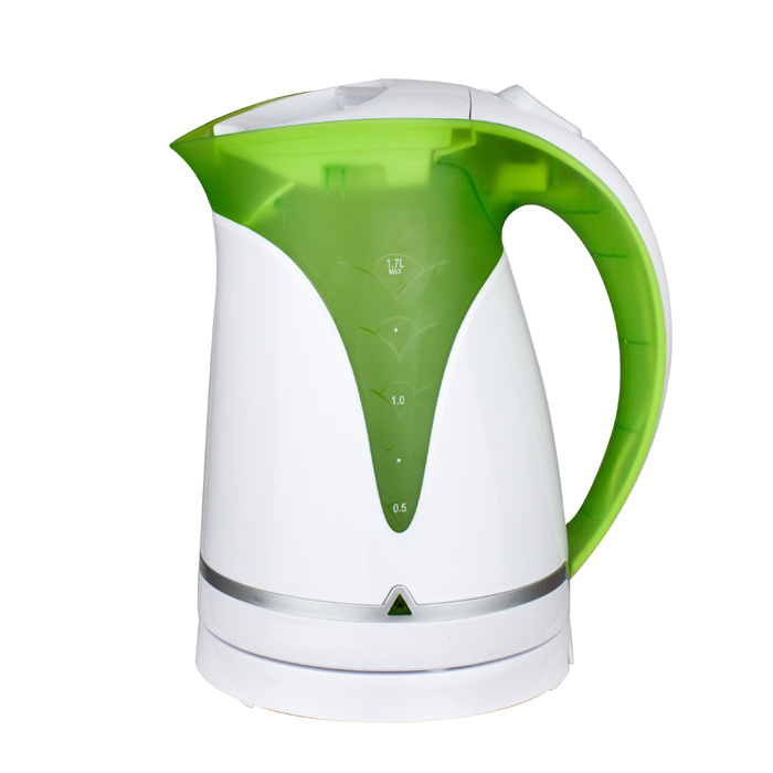 Wholesale Kitchen Appliance 1.7 Litre Cordless Plastic Electric Kettle with High Quality