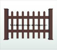 Outdoor WPC Decorate Railing 1200*1120mm K-Rl-04