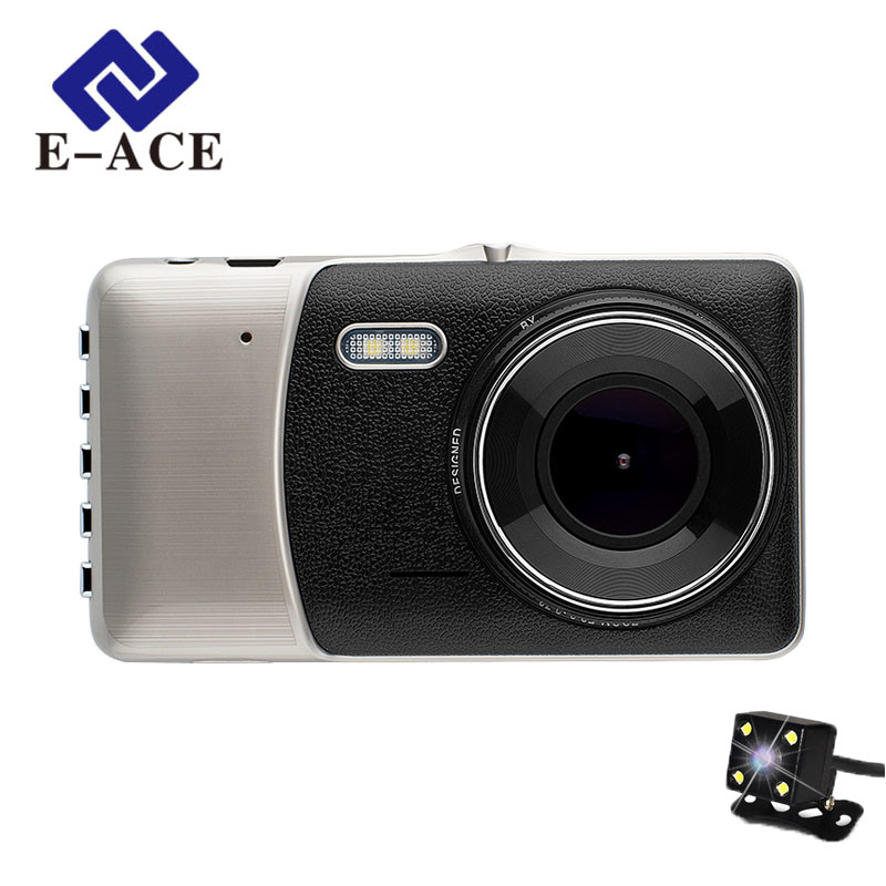 Mini Portable Car DVR Dual Camera Lens Video Recorder