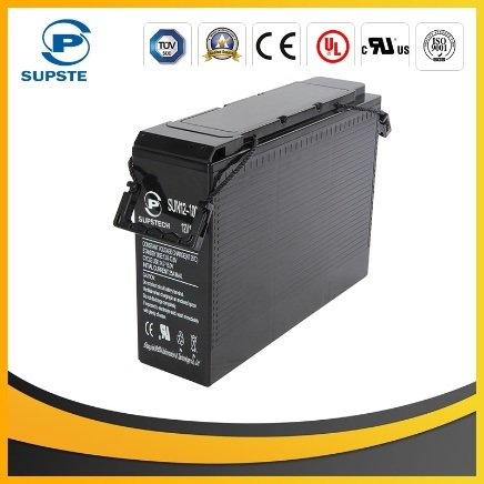 2016 Rechargeable UPS 12V 125ah Front Terminal Battery for UPS