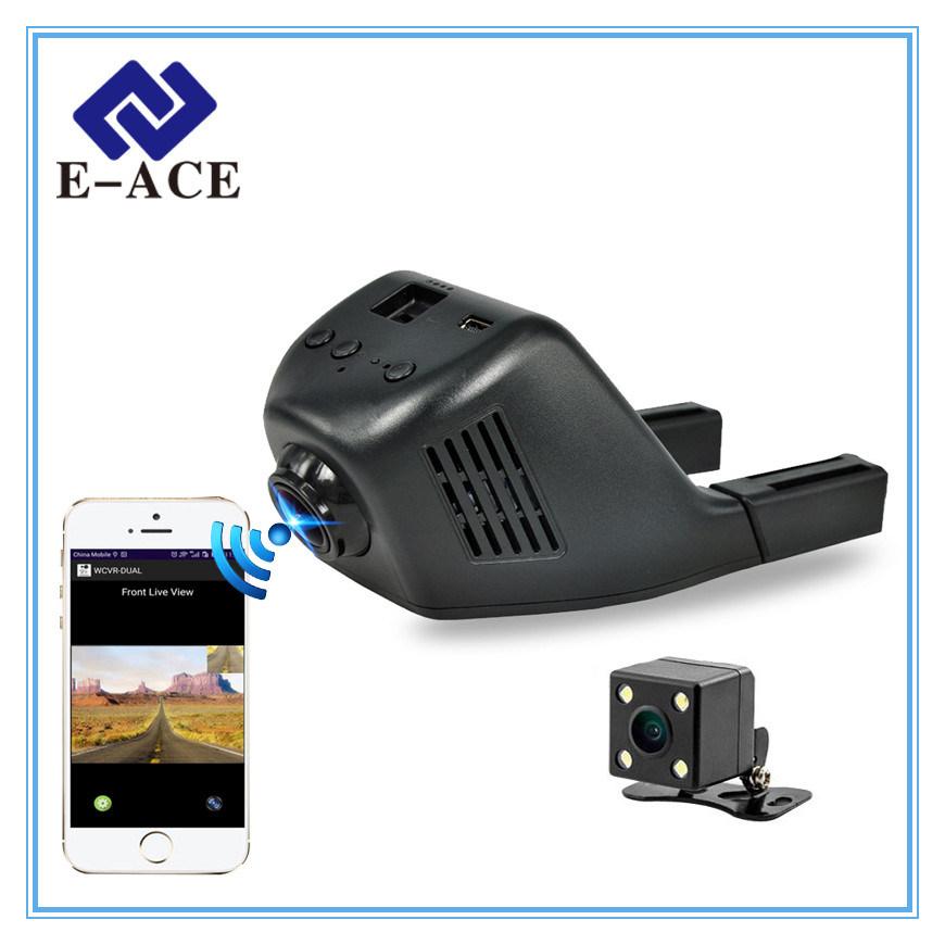 FHD 1080P Mini WiFi Dashcam Car DVR with 170 Degree