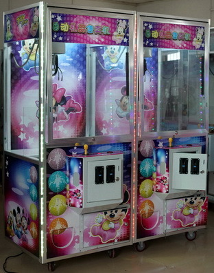 The Luxurious Crane Toys Gift Machine Prize out Claw Machine