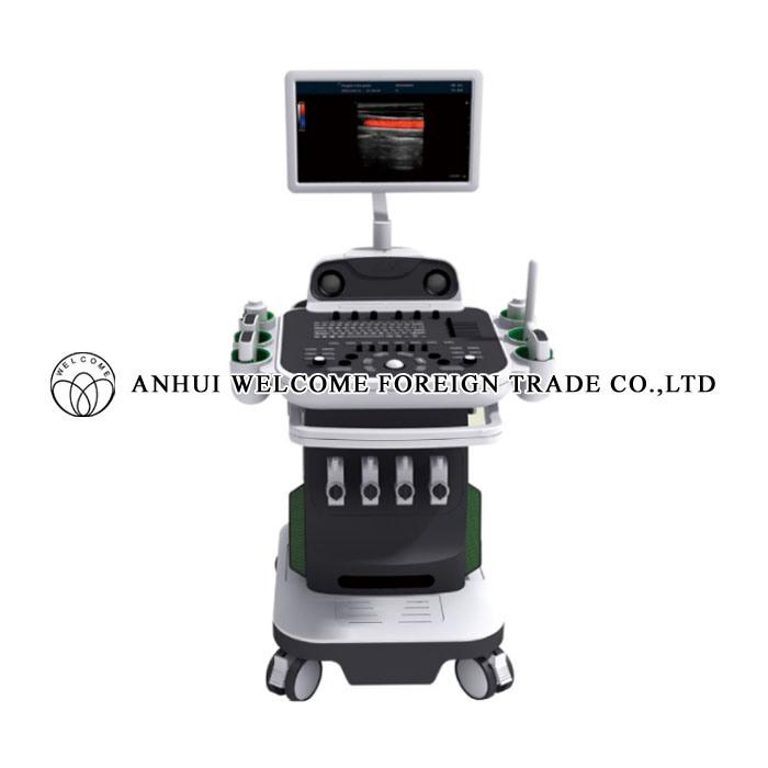2D/3D/4D Color Doppler Ultrasound Scanner with Ultrasonic Diagnostic System