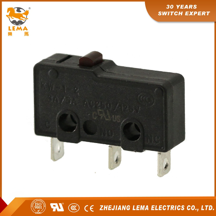 Lema Kw12-0 CCC, UL Certificates Mini Micro Switch 5A