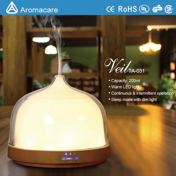 Aromacare New Model 200ml Aromatherapy Ultrasonic Humidifier (TA-031)