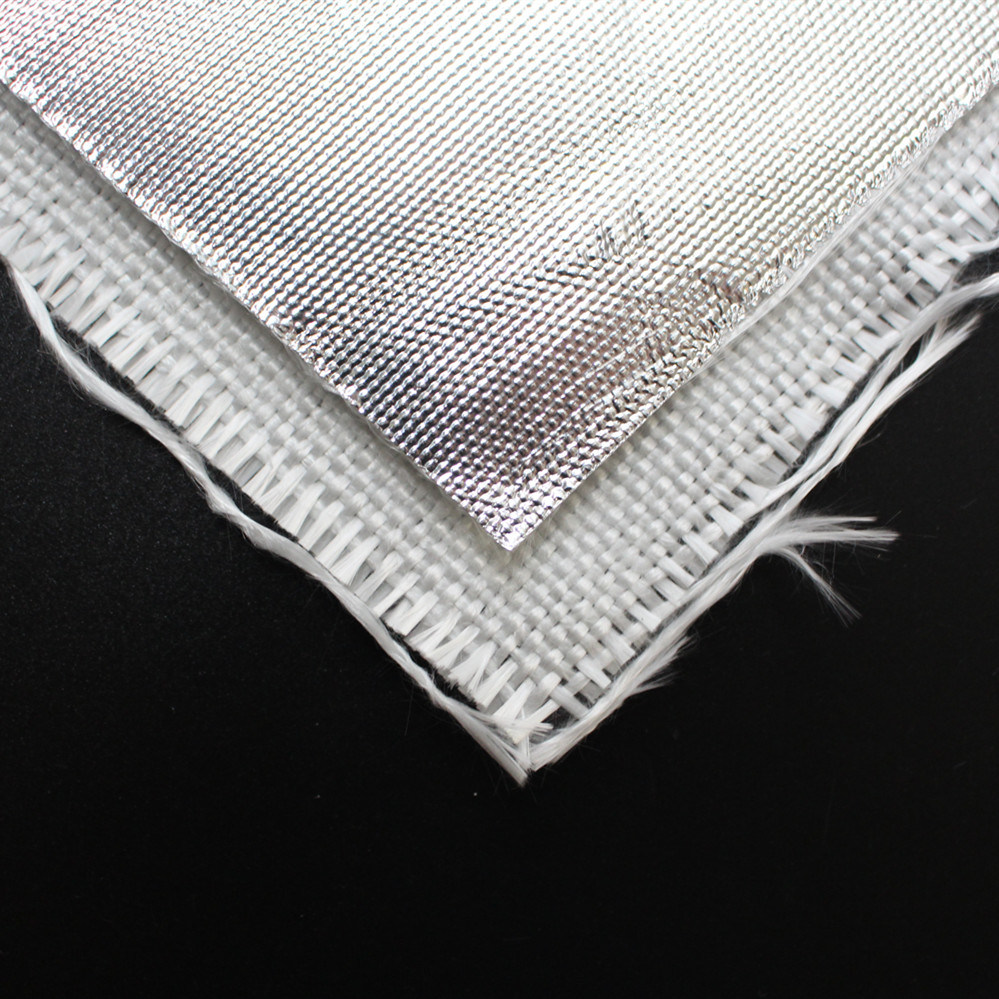 High Temperature Heat Reflecting Aluminum Film Coated Fiberglass Fabric