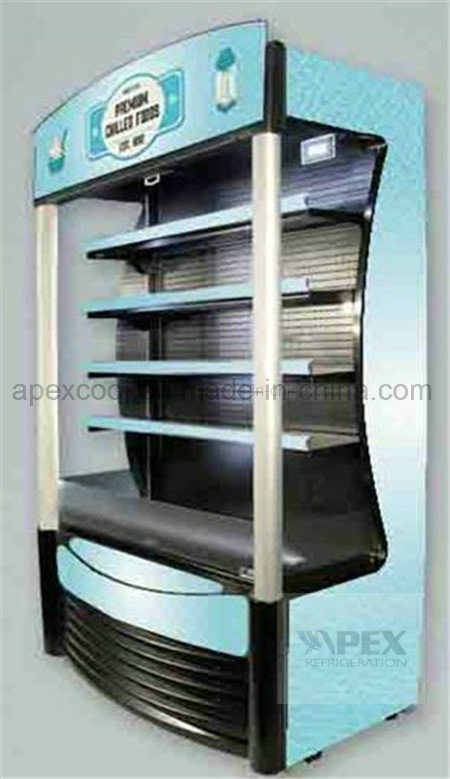 Supermarket Muti Deck Display Open Air Chiller in High Quality