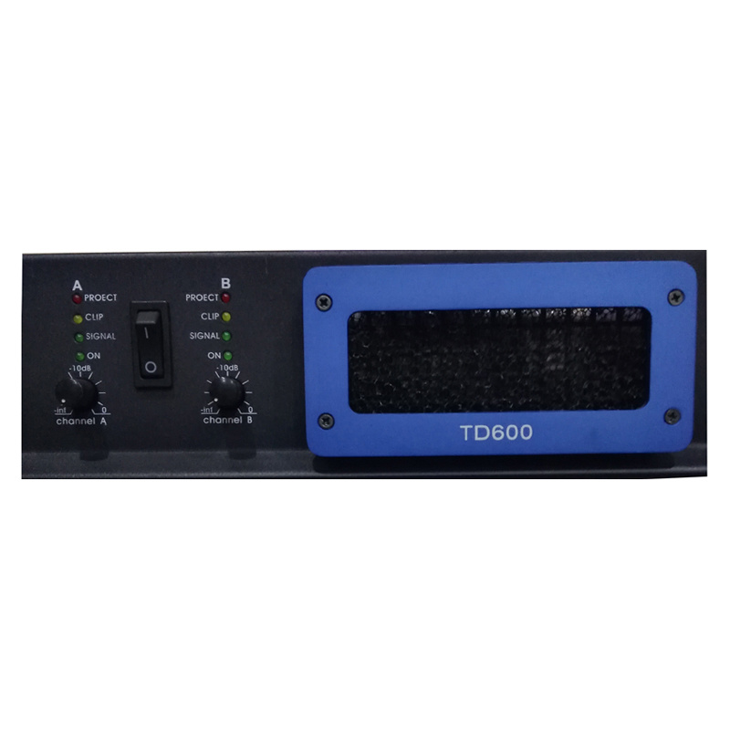 Double Channel 2u PA Speaker PRO Audio Professional Power Amplifier
