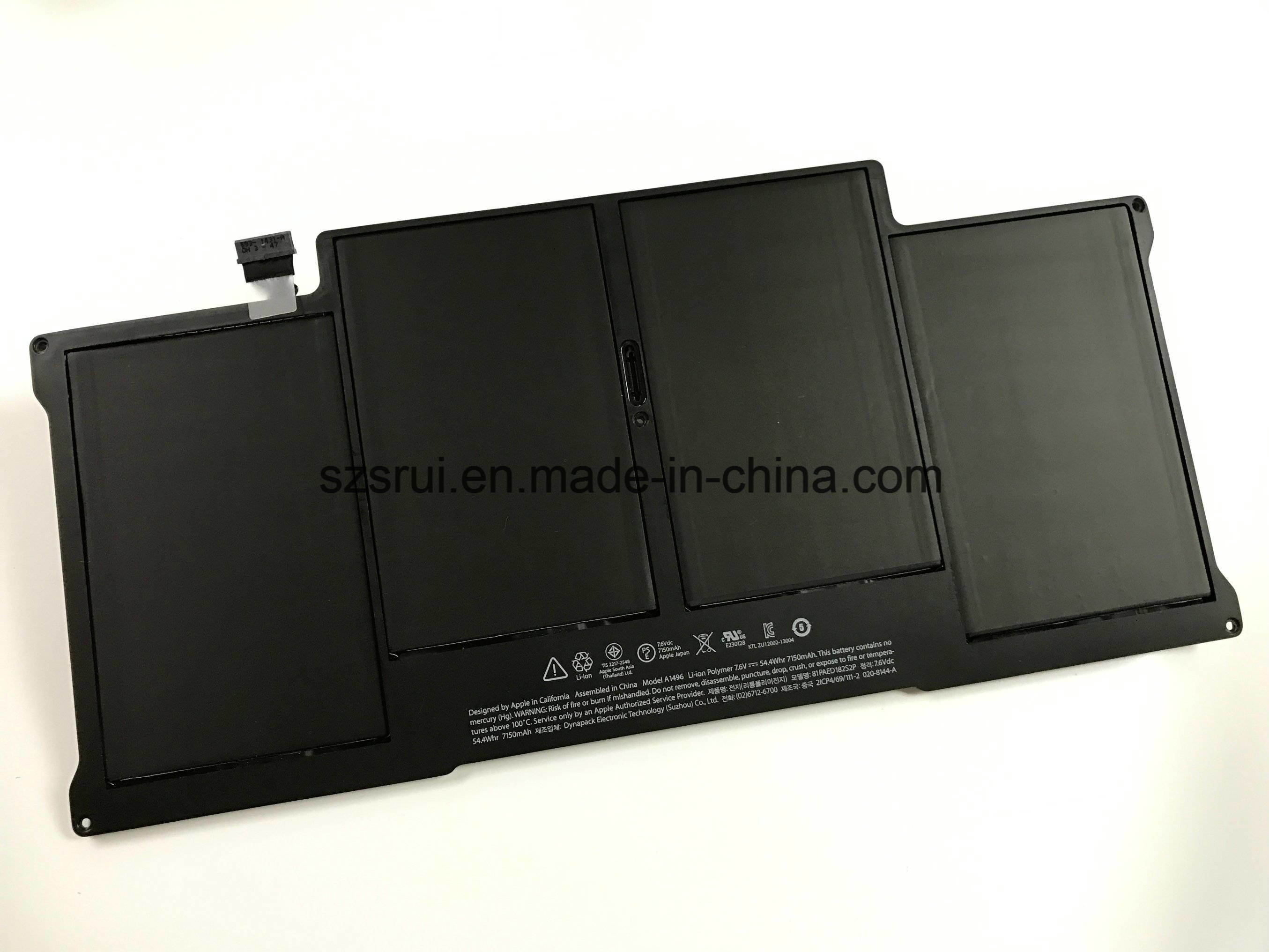 "Laptop Battery for Apple A1496 Apple MacBook Air 13"" A1466"