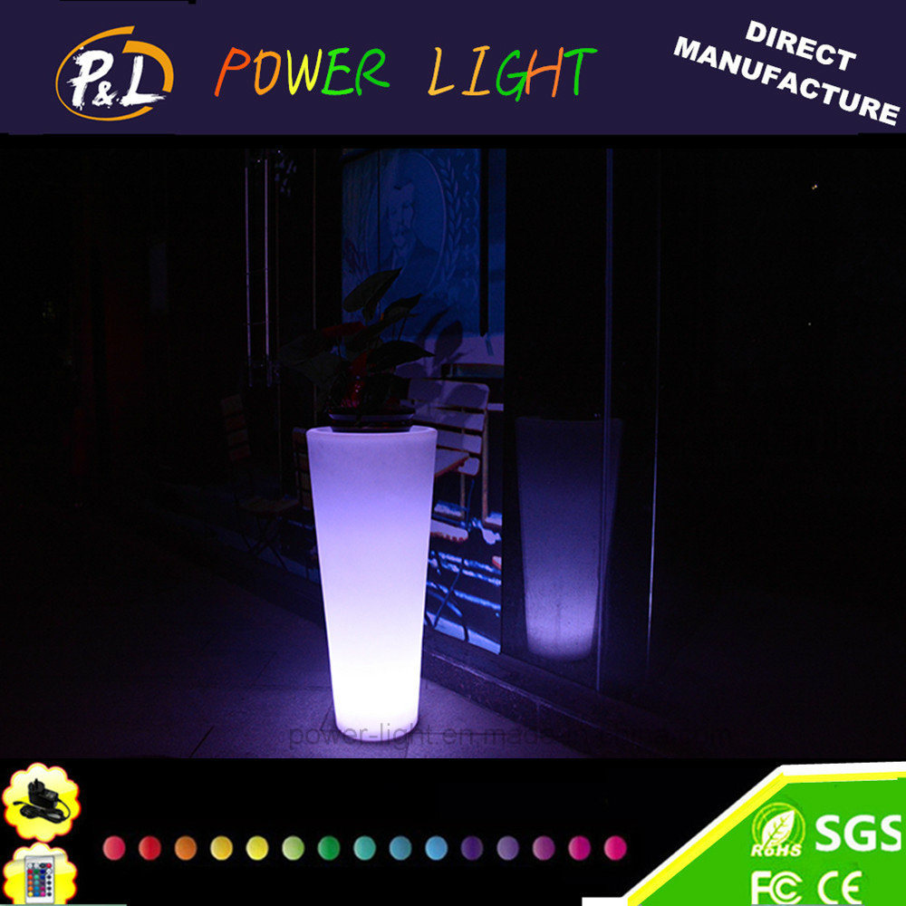 Modern Plastic Light up Furniture LED Garden Pot