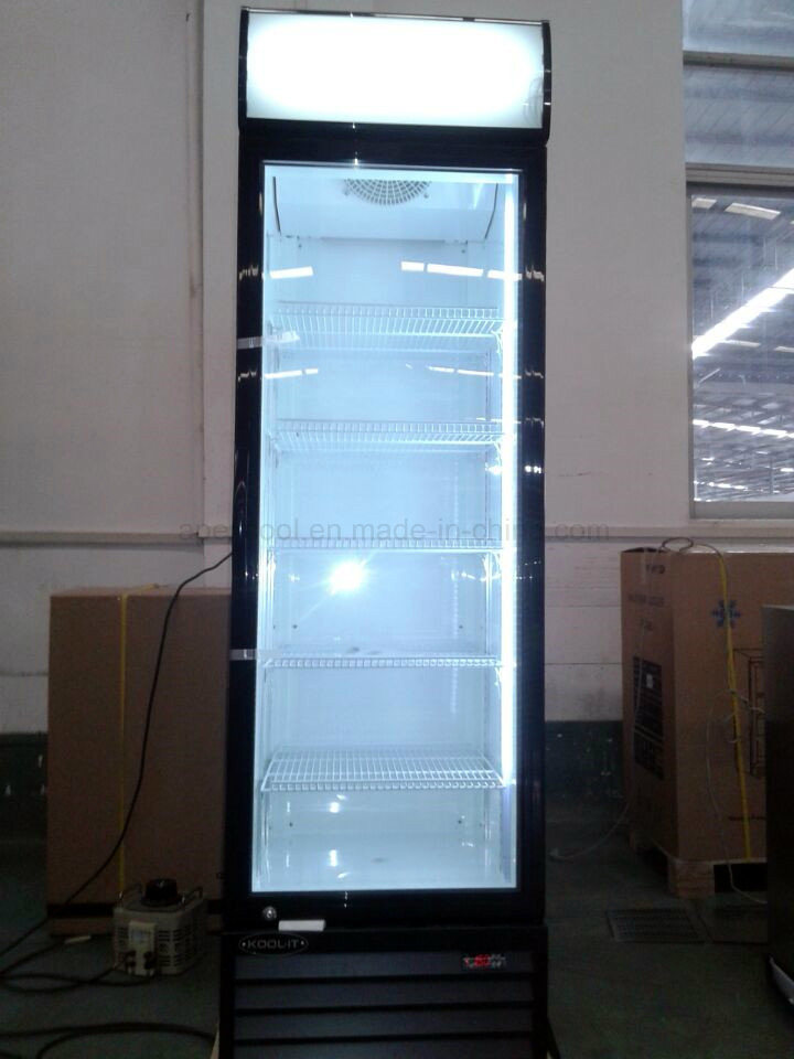 fashion Design Superior Performance Upright Medicine Freezer Showcase