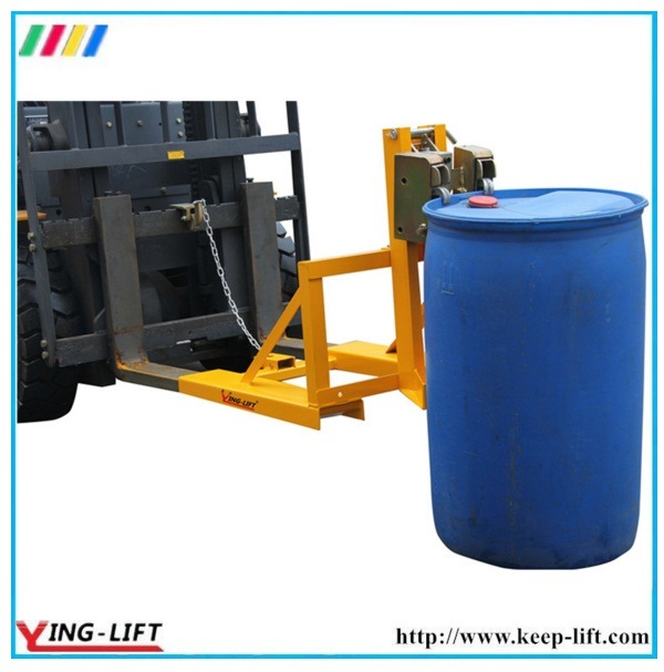 Adjustable Support Leg Forklift Drum Grabs