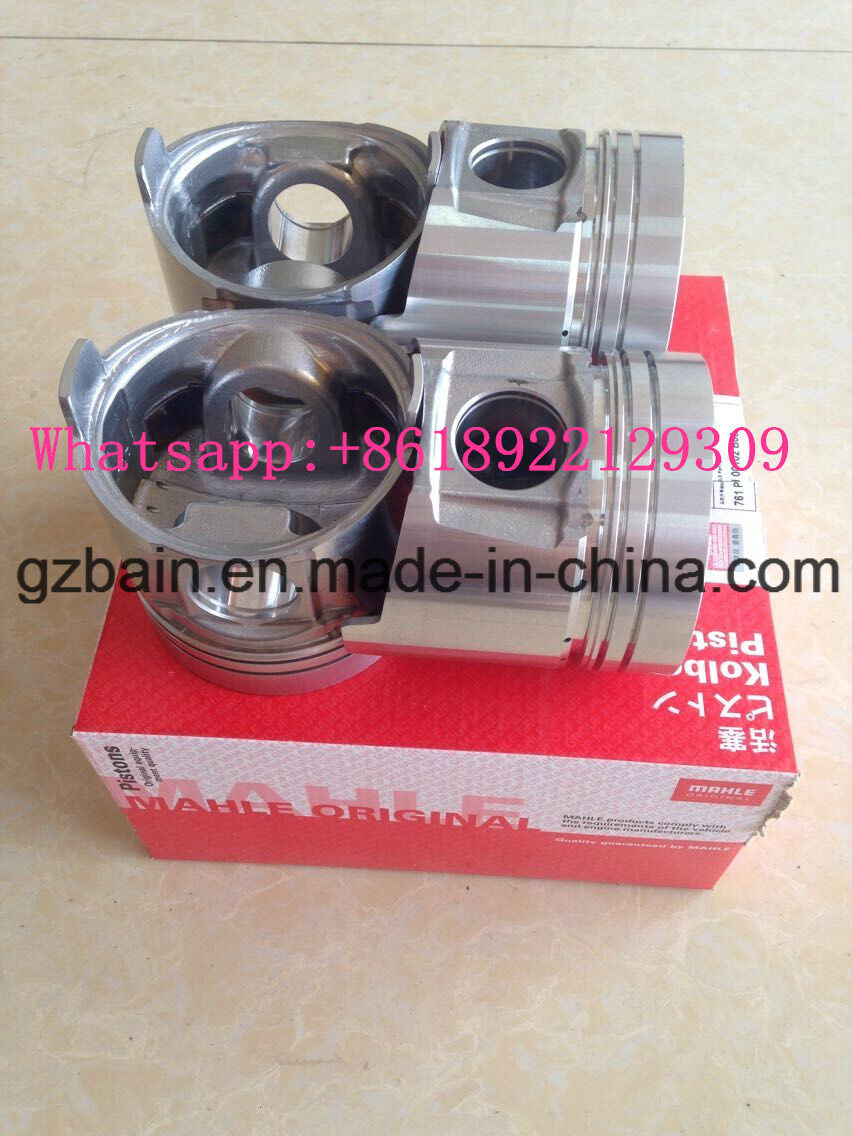 Original Mahle Brand Piston for Mitsubishi Sk230-6e Excavator Engine 4D31 (Part Number: Me012131)