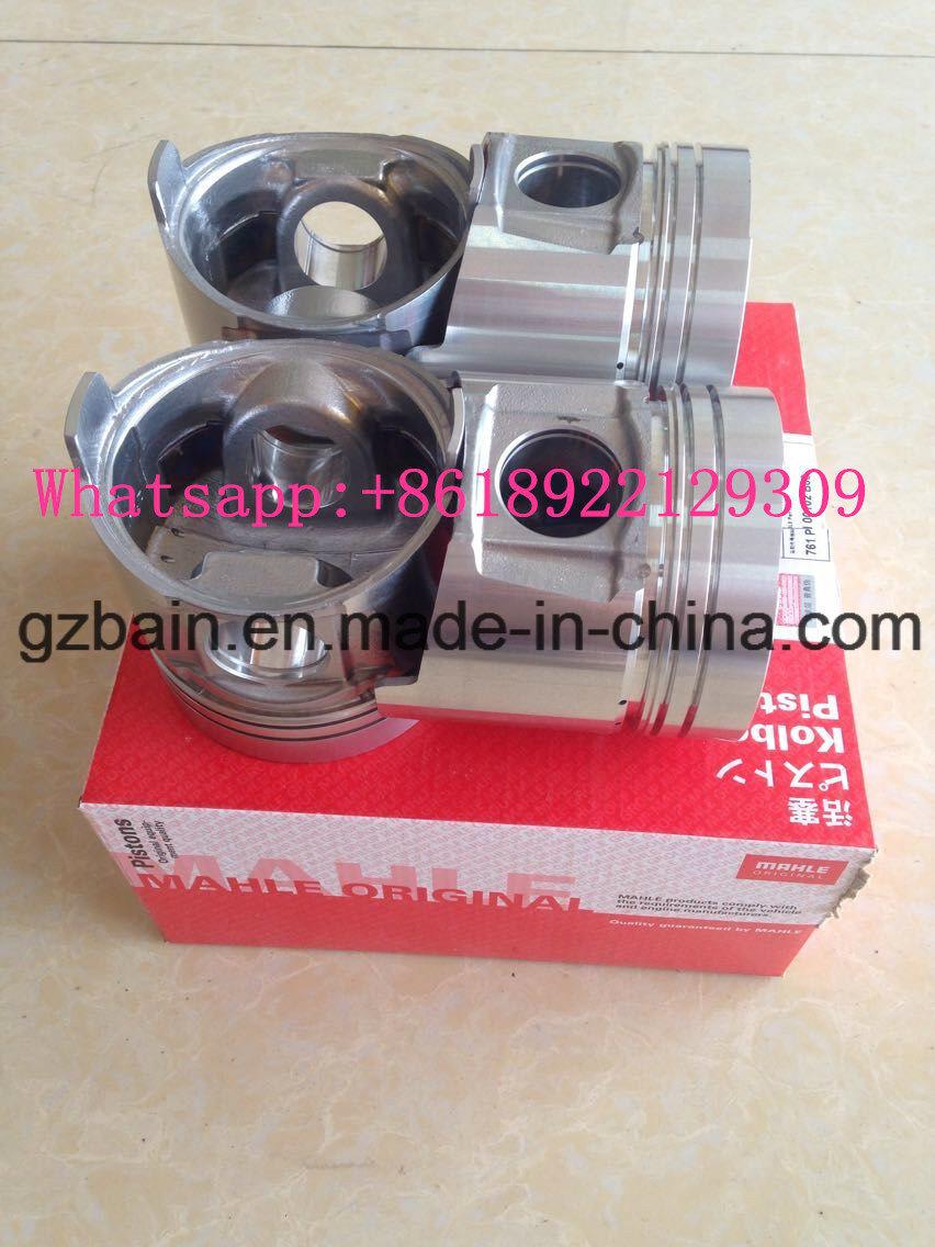 Original Mahle Izumi Brand Piston for Mitsubishi Sk230-6e Excavator Engine 4D31 (Part Number: Me012131)