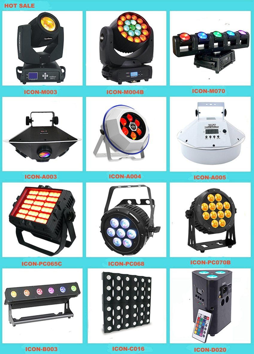 High Qualitity RGBA 4in1 LED Effect Light