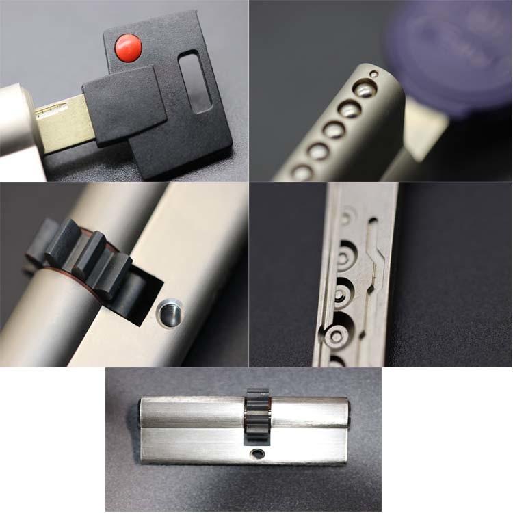 Mul-T-Lock 7X7 Mortise Door Lock Cylinder