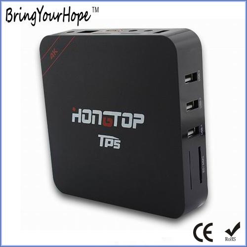 Tp5 Amlogic S905 Quad-Core 3GB+32GB 4k Android TV Box (XH-AT-009)