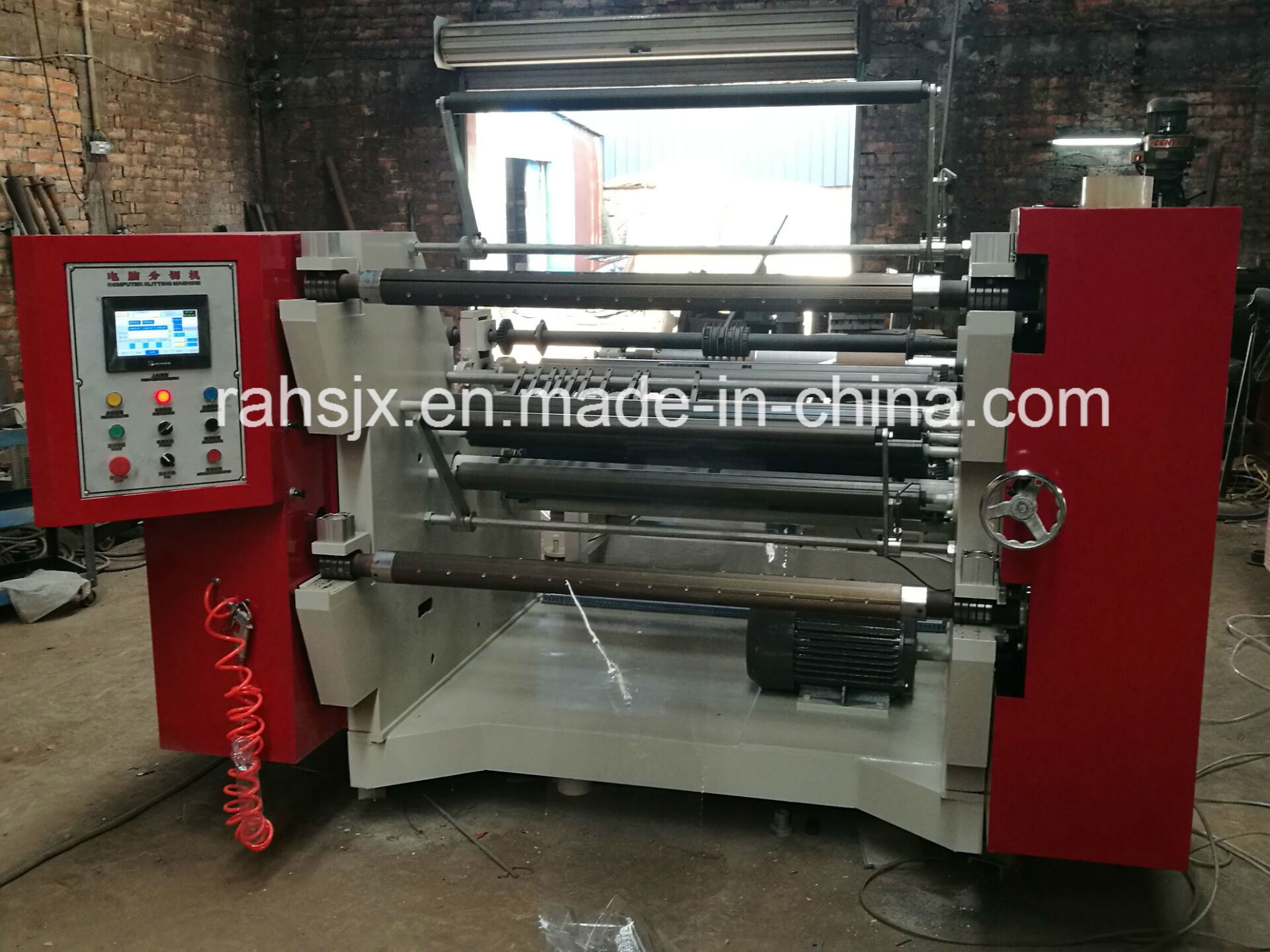 Roll Paper Slitting Rewinder Machine (WFQ-1300A)