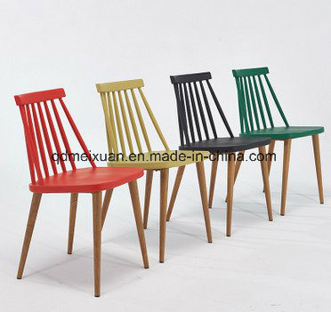 Contracted and Contemporary American Windsor Chair Plastic Chair Recreational Chair The Fashion Chair Office Chair Chair Meetings (M-X3818)