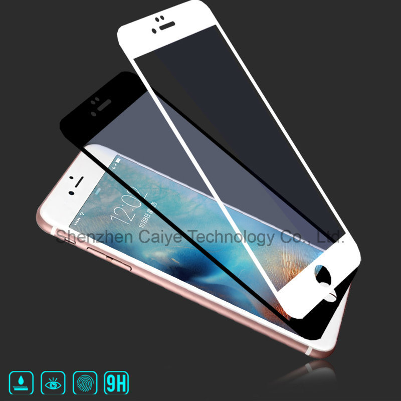 Silk Printing Tempered Glass Mobile Screen Protector for iPhone 6/6s/6 Plus