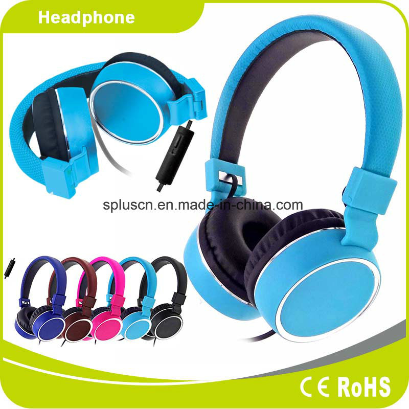 Wired Headphone with Colorful Appearance