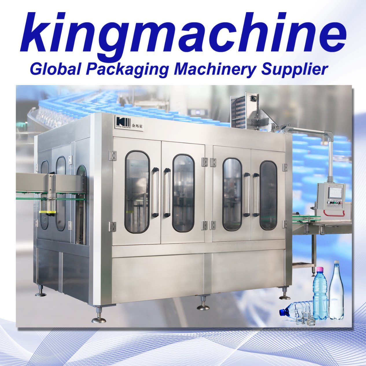 Automatic Clean Water Plastic Bottling Equipment