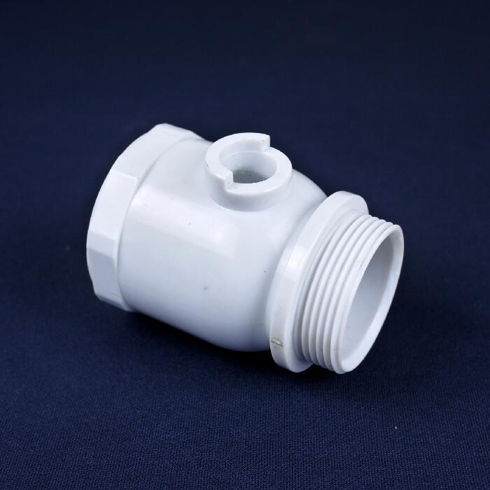 PVC Plastic Molding Pipe Fitting Parts 1.5 Inch Ball Valve