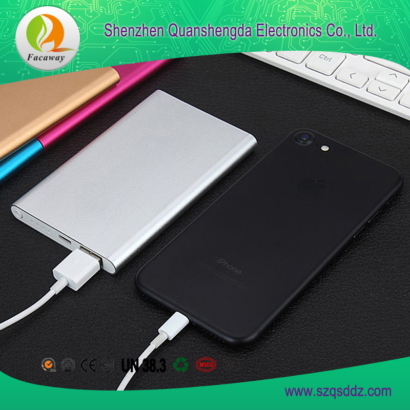 5V/1A Intelligent Fast Charging Portable Power Source USB Lithium Battery
