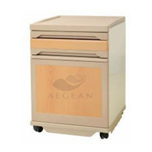 AG-Bc008 Hospital Furniture with One Drawer One Door Bedside Table