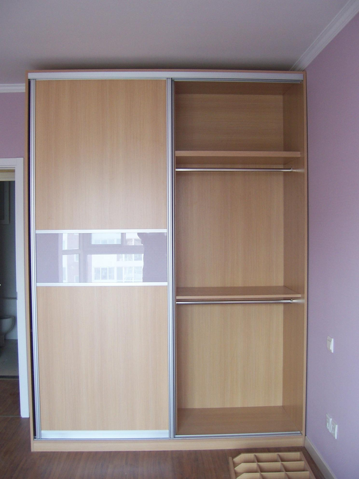 China bedroom closets wardrobes china sliding door for Bedroom closets designs