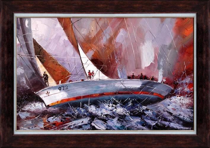 Marine Paintings, China Trade Paintings, Marine Oil Paintings