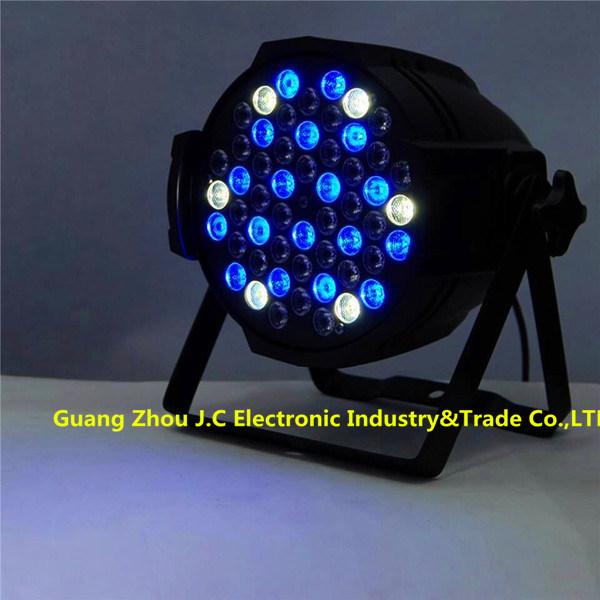 54*3W RGBW LED Aluminum PAR Light for Indoor Stage