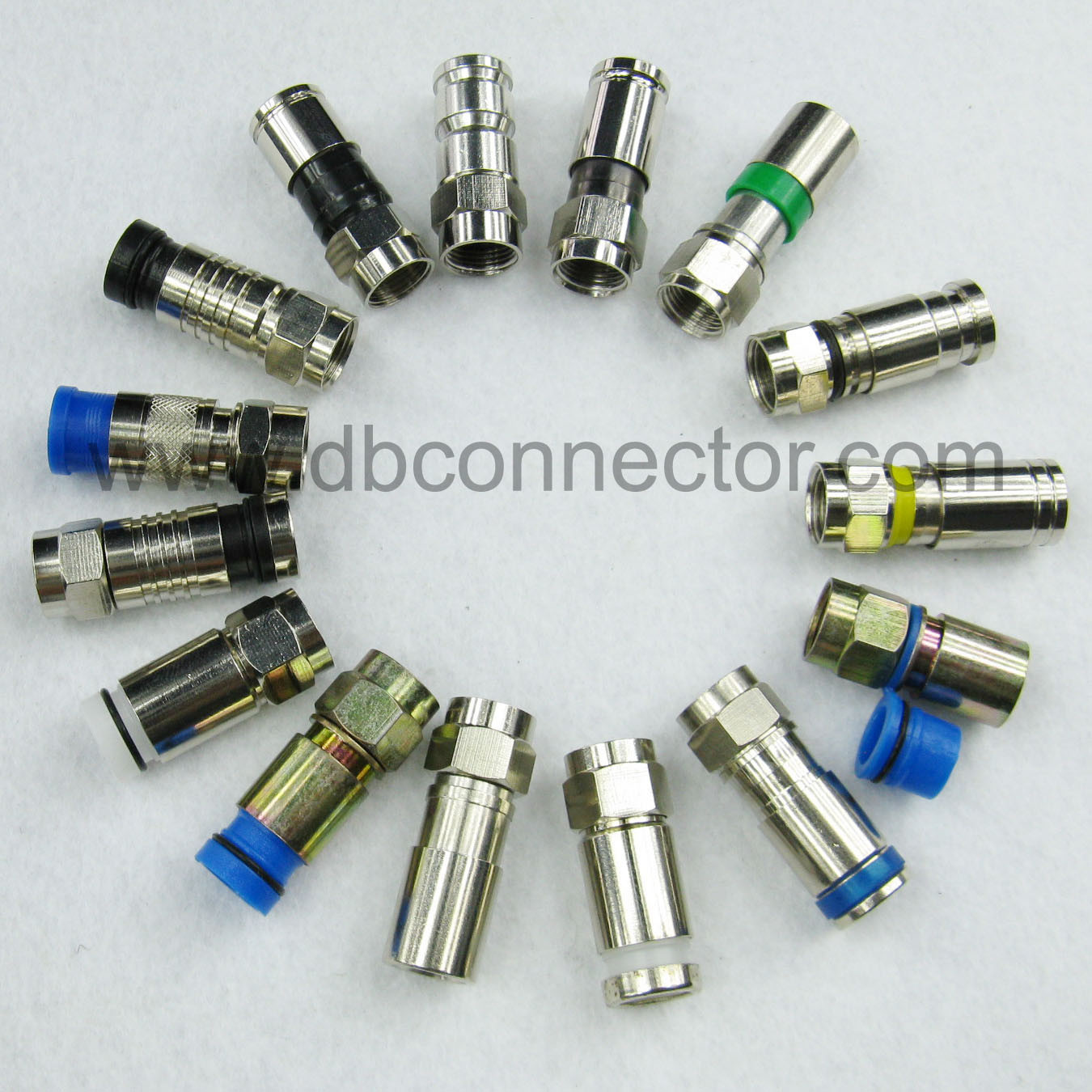 Coaxial Cable Connectors Types : Rf connector types wiki