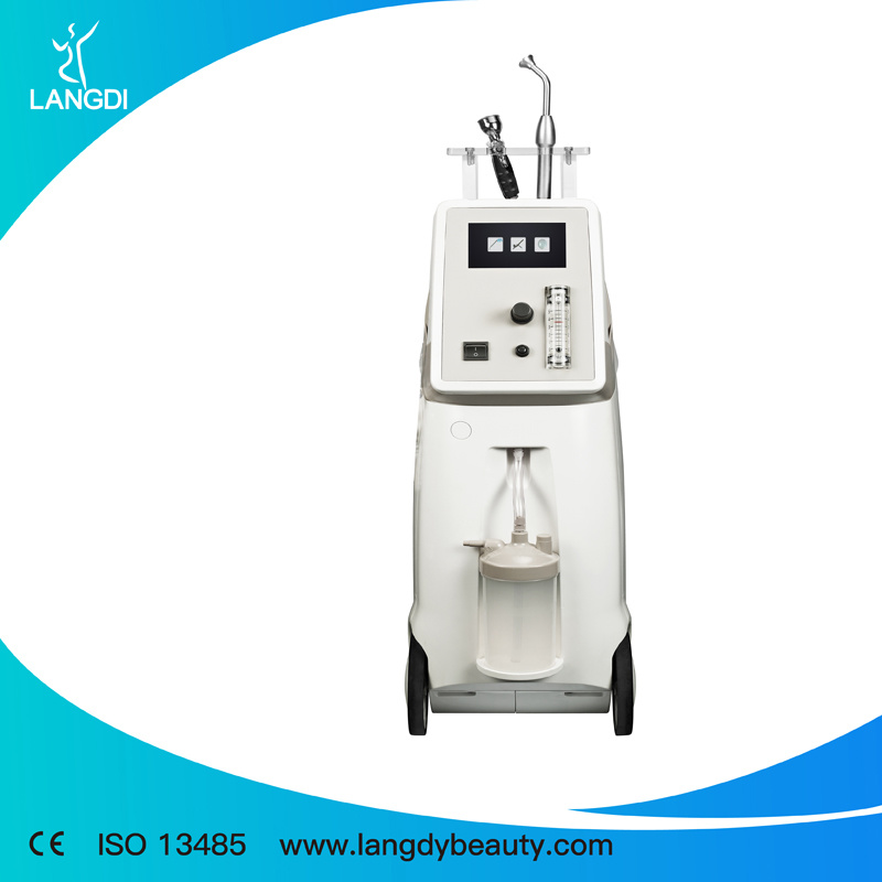 Oxygen Facial Jet Peel Water Skin Rejuvenation Machine Oxyge Thearpy