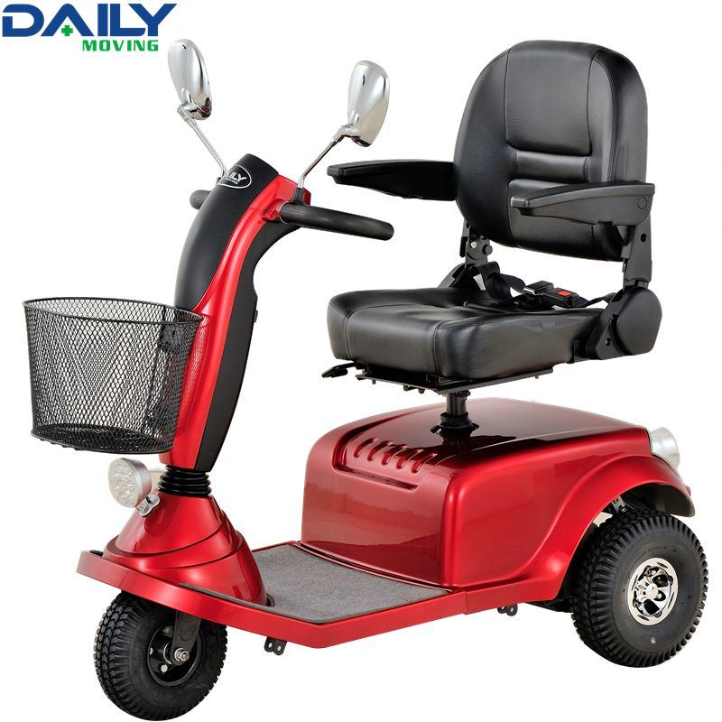 Ce Middle Size 3 Wheels Mobility Scooter for Handicapped
