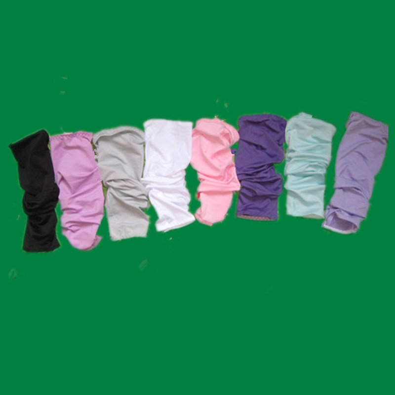 Solid Color Golf Arm Sleeves with Logo Printed