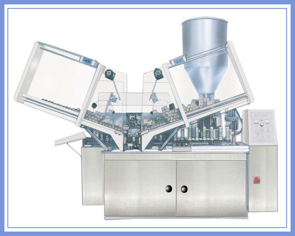 Soft Aluminium Tube Filling and Sealing Machine (GZ03)