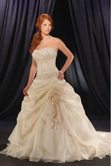 plus size wedding dresses uk. 2010 Beaded Plus Size Wedding