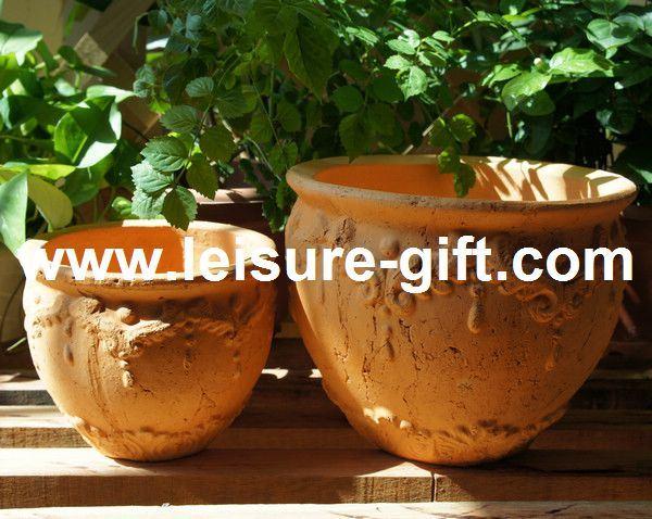 en terre cuite l 39 atelier de sandra pots de fleurs en. Black Bedroom Furniture Sets. Home Design Ideas