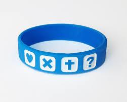 Custom Debossed Logo Silicone Bracelet for Promotion