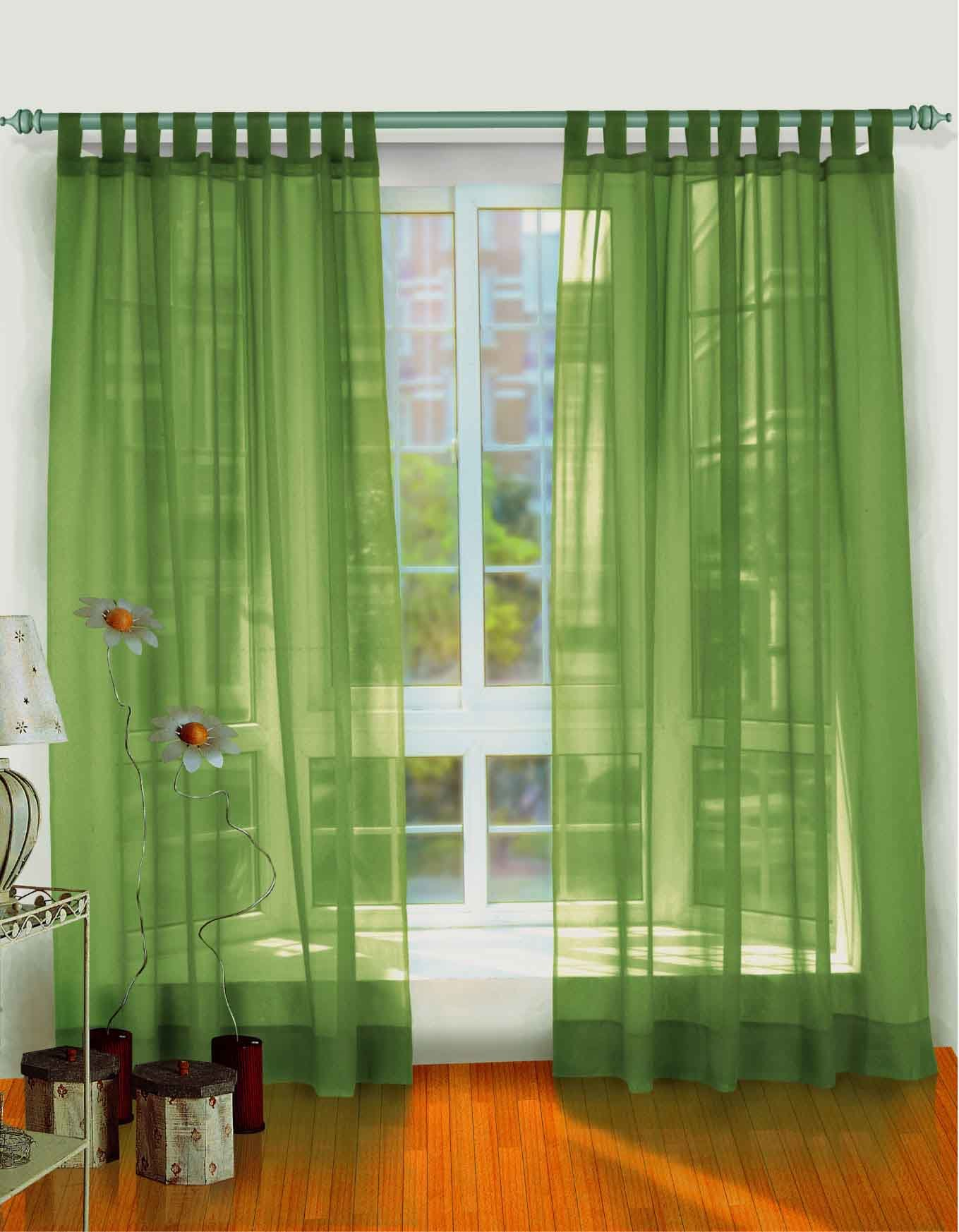 China Voile Polyester Curtain Fabrics