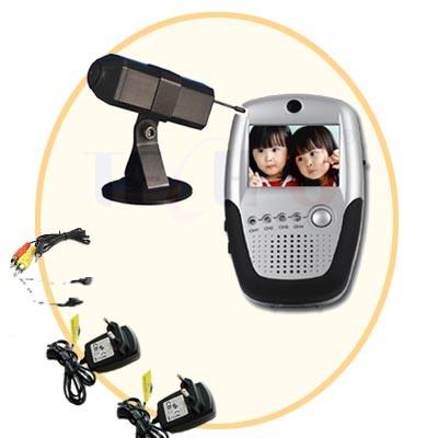 Wireless mobile camera and palm baby monitor tu 830e