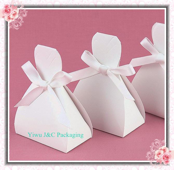 China Wedding Bridal Dress Favor Candy Boxes JCO 315
