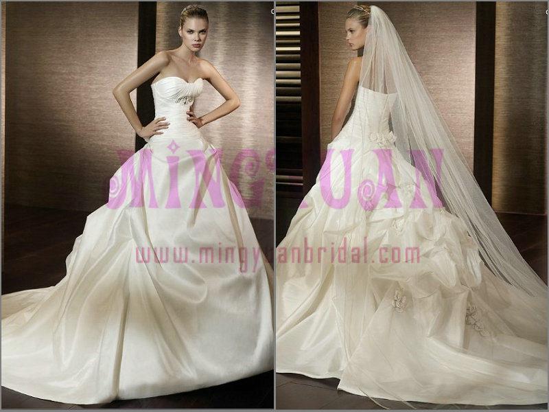 Vintage Wedding Dress WB111