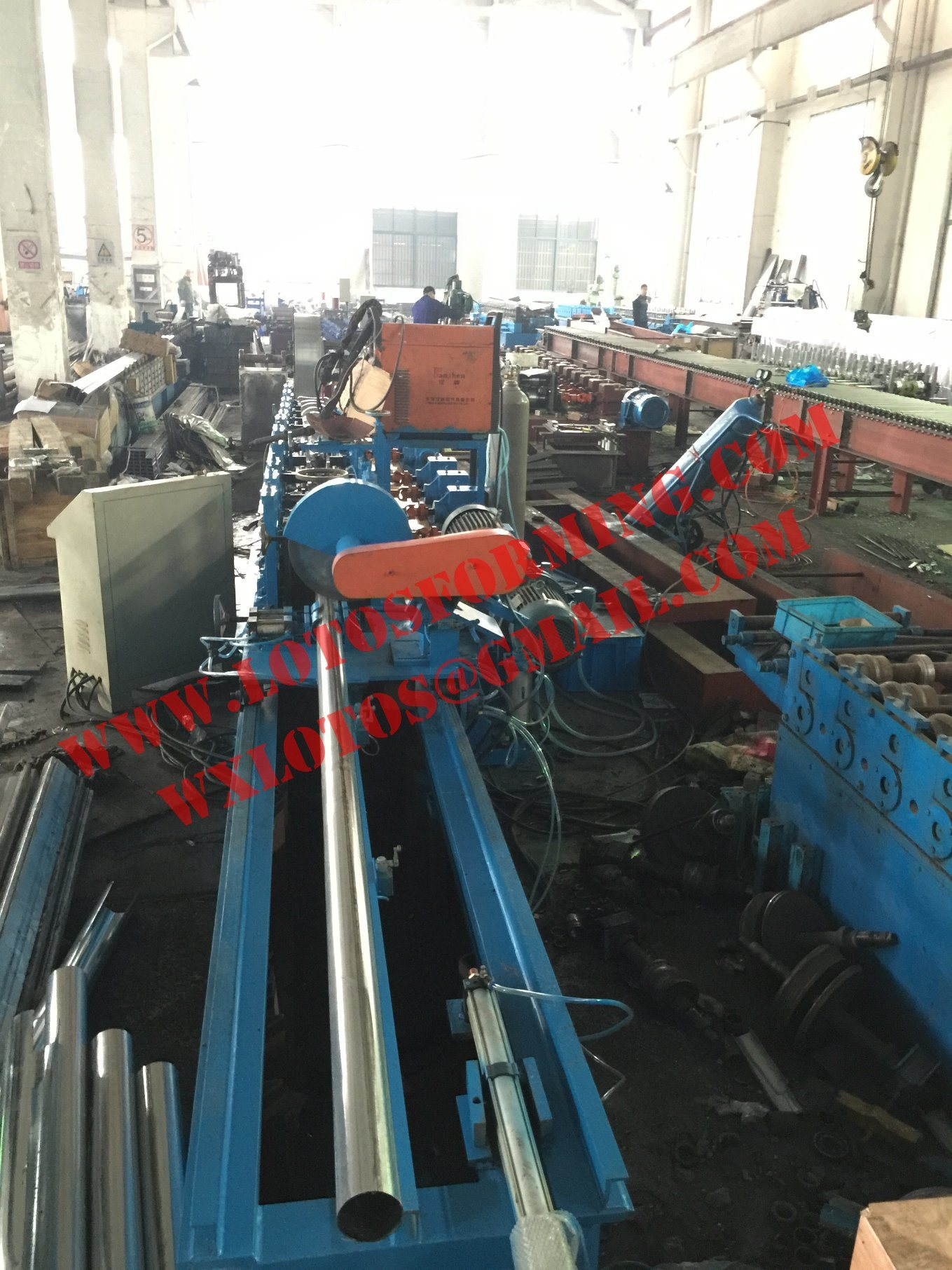 Octagonal Tube Roll Forming Machine with Ce Certificate